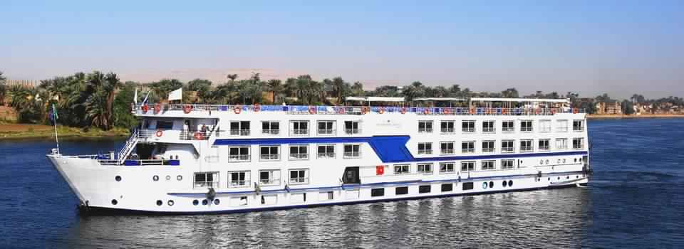 4 Nights / 5 Days Semiramis III Nile Cruise from Luxor to Aswan