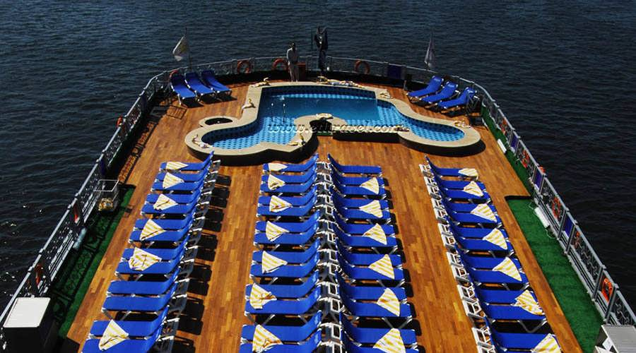 Semiramis III Nile Cruise - Sun Deck - Swimming Pool