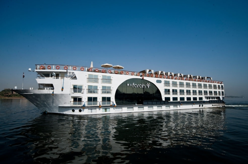 3 Night MS Farah Luxury Nile Cruise from Aswan to Luxor