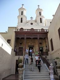 The hanging Church, Coptic Cairo.
