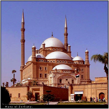 Mohamed Ali Alabaster Mosque.