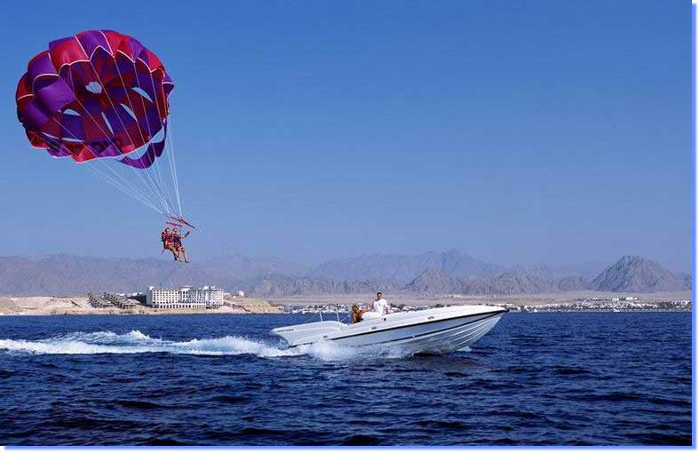 Parasailing in Sharm El Sheikh Magnificent Sky