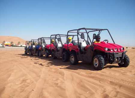 Sand Dune Buggy Safari in Sharm El Sheikh Desert