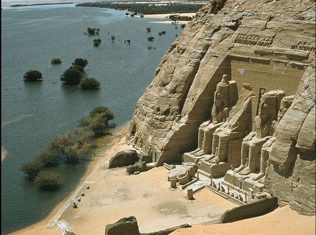 The Great Temple of Ramsses II, Abu-Simble.