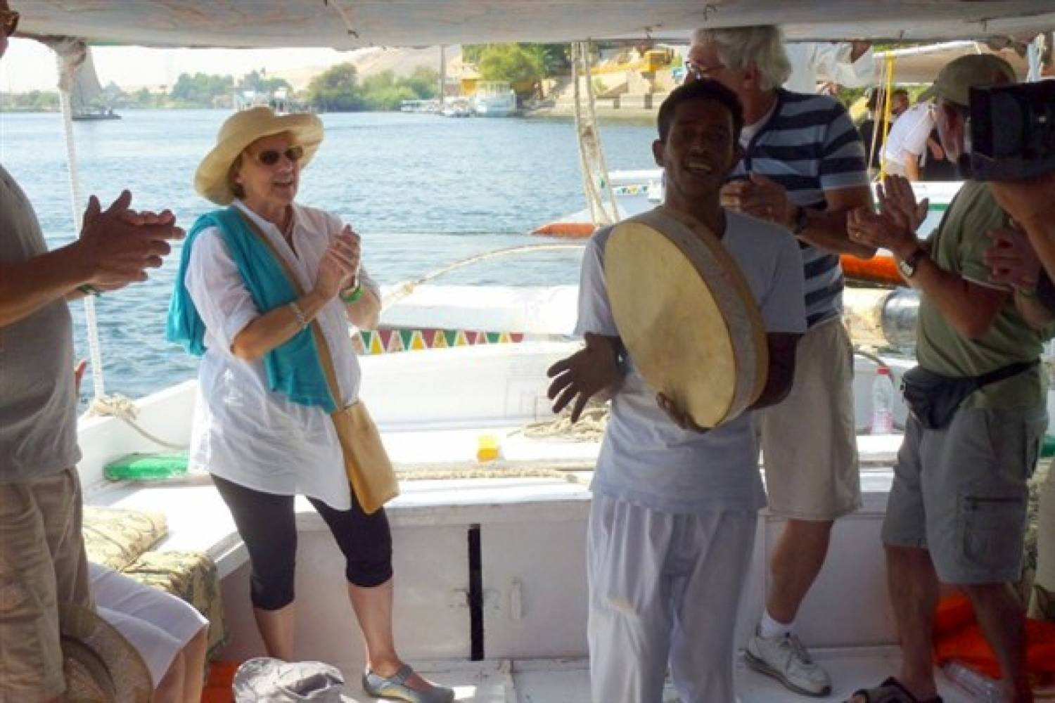 Motor Boat to the Nubian Village