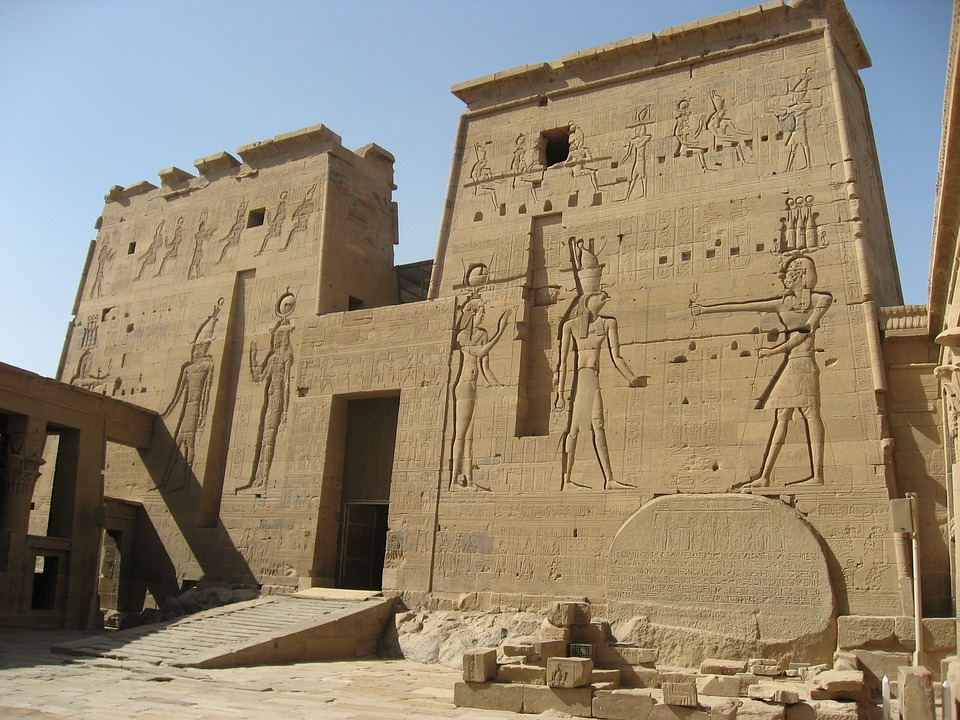 Philae Temple Of Goddess Isis