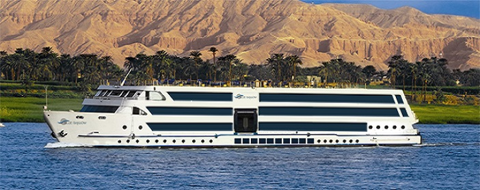 7 Night MS Blue Shadow Nile Cruise Luxor - Aswan - Luxor