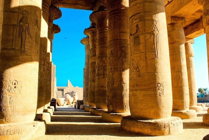 Hypostyle Hall - Ramesseum Temple