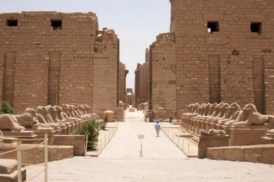 Karnak Temple Sphinx Avenue