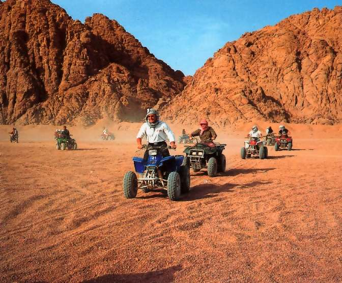 hurghada quad bike adventure
