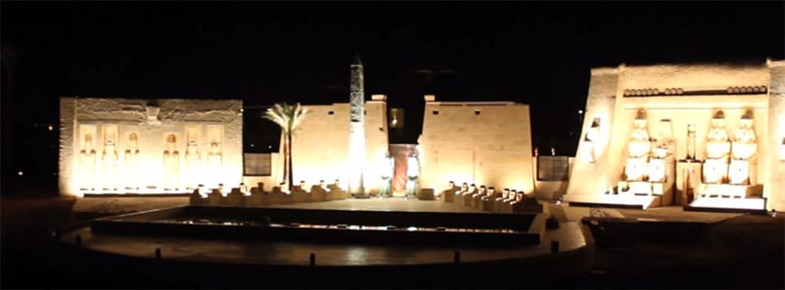 Sound & Light Show 1001 nights Hurghada