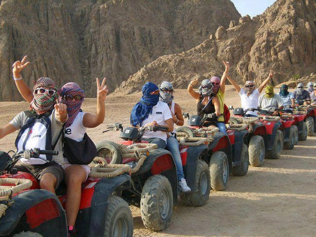 quad biking hurghada