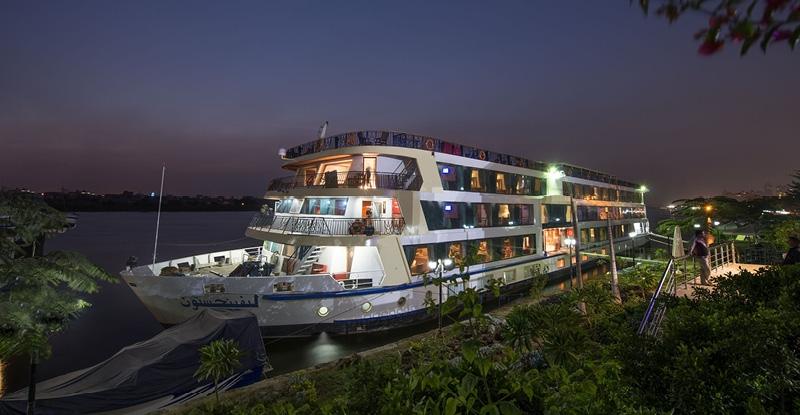 4 Nights / 5 Days MS Amwaj Nile Cruise from Luxor to Aswan