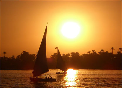 River Nile Sunset
