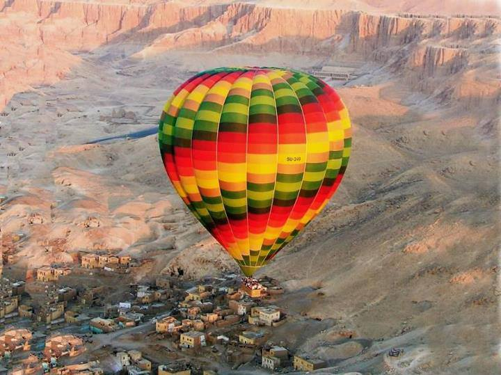 Cairo-Luxor & Hot Air Balloon Trip By Plane From Sharm El Sheikh