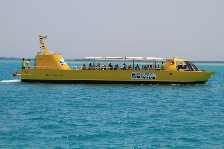 Semi Submarine Tour from Hurghada