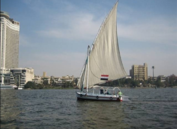 Felucca rides on the Nile in Cairo