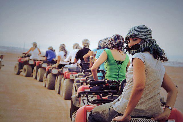 Quad Biking Tour in Sharm El Sheikh Desert