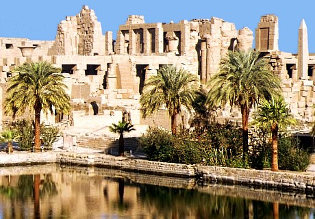 Sacred Lake of Karnak Temple - Luxor