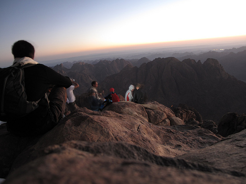 Mount Sinai Summit - Moses Mountain