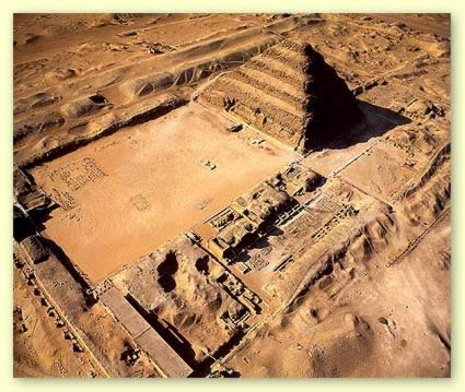Complex of Saqqara - Step Pyramid of Zoser