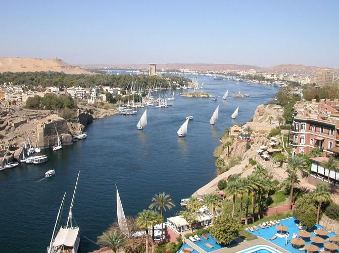 River Nile - Aswan City