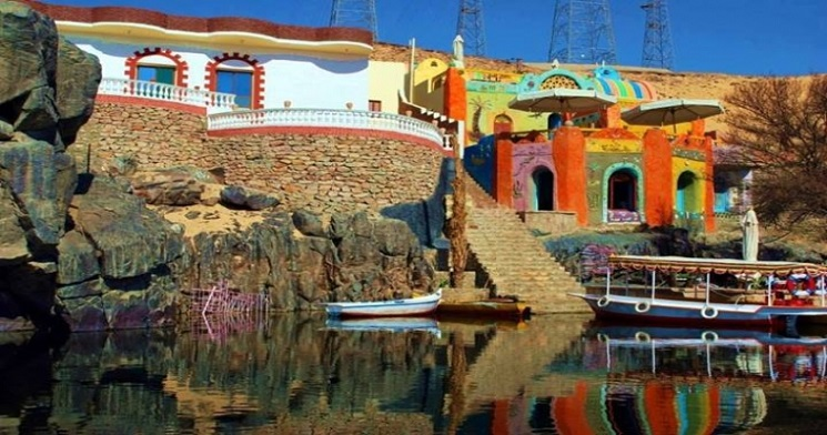 Colorful House - Nubian Villag Aswan