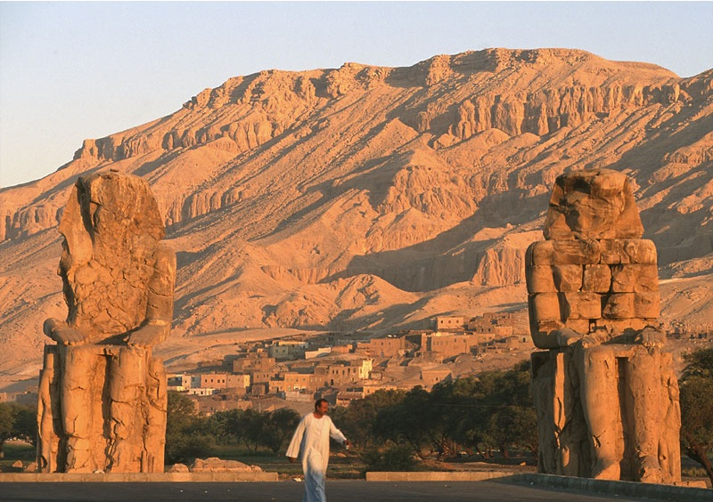 Colossi of Memnon - Luxor West Bank